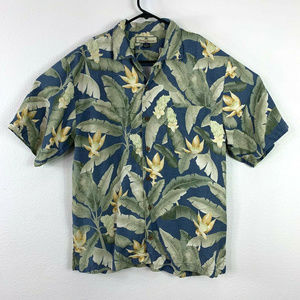 Tommy Bahama Short Sleeve Button-Up Shirt Size M